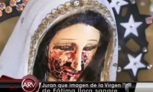 Matka Boska płakała krwawymi łzami?
